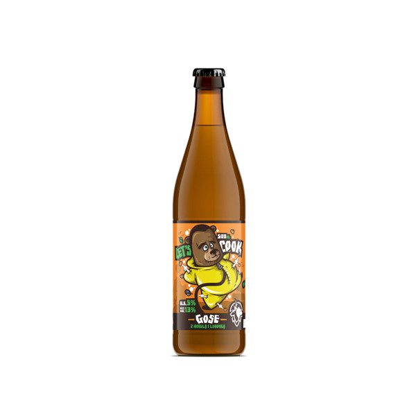 Apricot and Lime Gose - Let's Cook